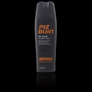 Imagen de PIZ BUIN IN SUN spray SFP15 200 ml