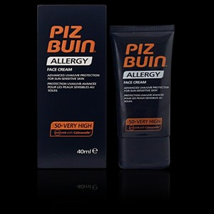 Imagen de PIZ BUIN ALLERGY face cream SFP50 40 ml